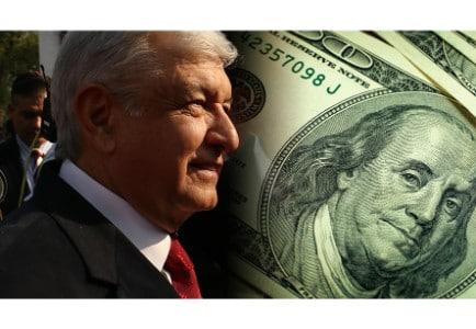 AMLO puede abaratar aún más el dólar