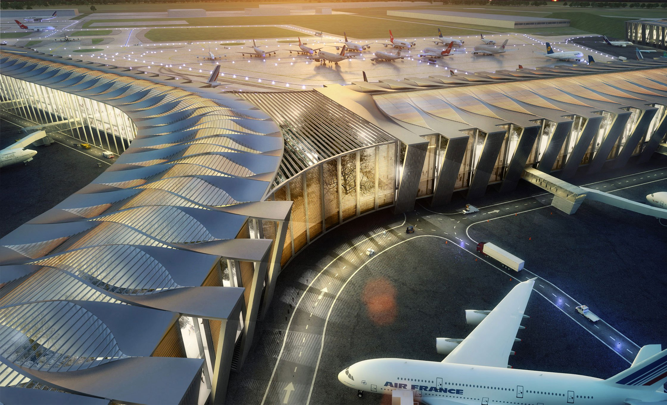 El galimatías del nuevo aeropuerto